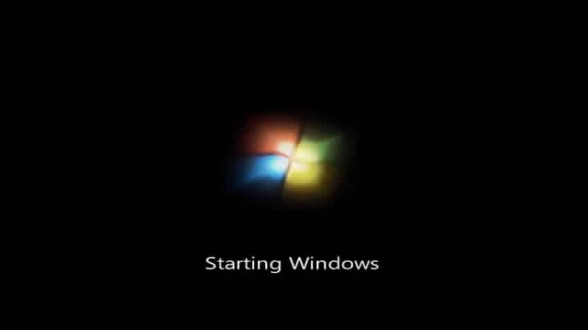 Inicializando instalação windows 7